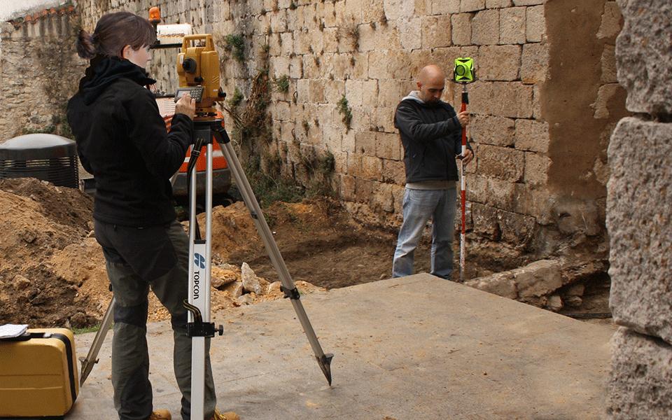"""Restauración del """"Portal Chiquito"""" en las murallas de Salvatierra-Agurain"""